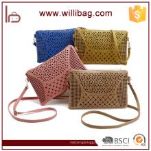 Woman Messenger Bags Lady Wallet Bags Factory Cheap PU Stuff Shoulder Bags