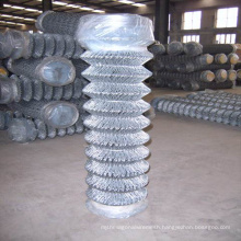 Barbed Type PVC Coated Chain Link Fence