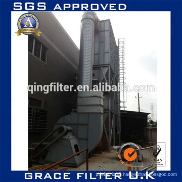 Industrial Boiler Smoke Bag Filter dust collecting machine