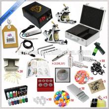 Kits de tatouage de démarrage avec machine à tatouer et unité de puissance et cordon de clip