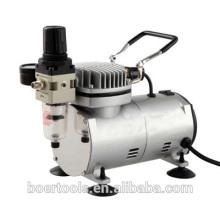 1/6HP Mini Air Compressor with filter portable airbrush compressor