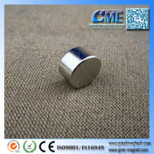 Leistungsfähiger kleiner runder Magnet-kleiner runder Magnet