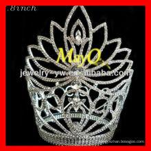 Couronnes de cendrillon de fleurs de haute qualité couronnes de bijoux couronnes accessoires de cheveux en gros