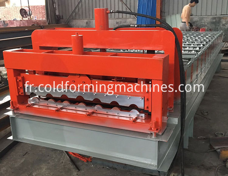 glazed tile roll forming machine 14