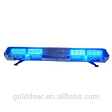 Blue Rotating Warning Lightbar with speaker