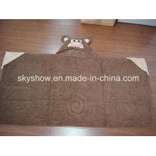 Toalla con capucha infantil con cabeza de Animal (SST0307)