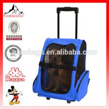 Недавно разработанный 2016 модельного кошка/ собака комфорт путешествия портативный Роллинг рюкзак(ЭС-Z347)