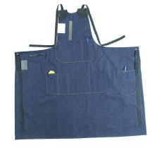 Многоразовый рабочий фартук Пользовательский джинсовый фартук