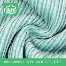 Tecido de cobertura de cadeira de poliéster 100%, 6 costelas em seda