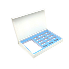 Boîtes de brillant à lèvres empaquetant la boîte-cadeau de logo personnalisé