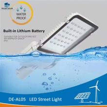 Dispositivos elétricos claros solares integrados da bateria de PRAZER DE-AL05