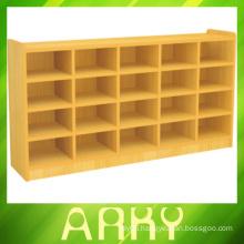 Kindergarten Wooden Furniture Children Shoes Cabinet