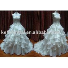 2011 último vestido de casamento marca de fábrica, vestido nupcial