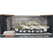 Militar 1: 32 Brinquedo de tanques de brinquedo de camuflagem