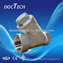 Threaded Y Type Strainer Stainless Steel BSP