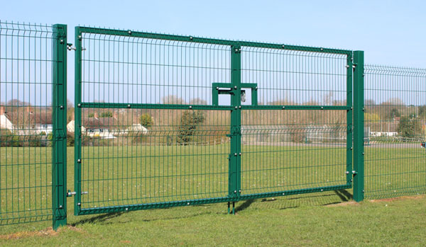 3d mesh fence panels double gate