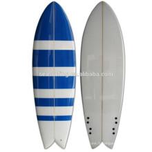 planche de surf de poisson / planche de surf de mousse d'unité centrale