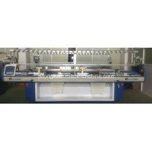 Machine à tricoter à plat entièrement informatisée à quatre systèmes pour utilisation sur chandail