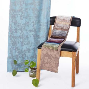Irregular Jacquard Curtain Fabric for Home