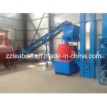 Machine de moulin à granulés de 6mm, 8mm, 10mm, Machine de moulin à particules de biomasse à scie à bois avec CE