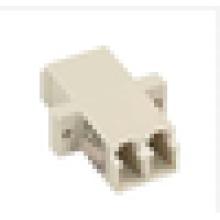 LC-LC Adaptateur multimédia à fibre optique duplex, connecteur adaptateur coupleur