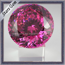 Big Size Rose Red Cubic Zirconia