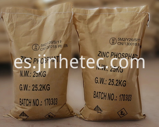 Synthesis Zinc Phosphate For Cement Filling