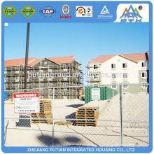 Hotel de pré-fabricados de aço certificado de venda quente
