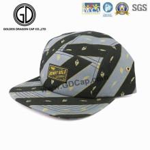 2016 High Quality Fashion Gray Black Straight Snapback Camper Cap
