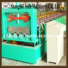 Farbe Stahl Deck Boden Rollenformmaschine (AF-D800)