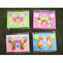 Bebé niño partida conjunta número alfabeto EVA Foam Puzzles matemáticas Mat cartas educativo juguete regalo de Navidad
