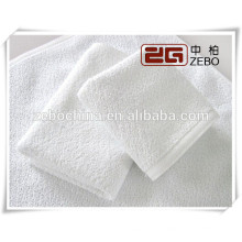 100% Cotton High Quality Soft White Face Towel for Hotel Use