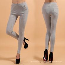 Sex Dame Cotton Leggings mit Linie Design