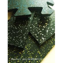 Rubber Roll/ Intelocking Gym Club Floor Indoor