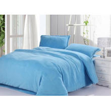 Juego de cama de hotel de diseño caliente, sábanas de algodón 100%, ropa de cama