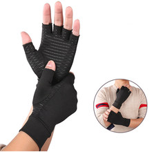 Wholesale Indoor Sports Copper Fiber Health Care Gloves for People in The Office