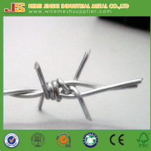 China Factory Directly Hot Dipped Galvanized Barbed Wire Fence