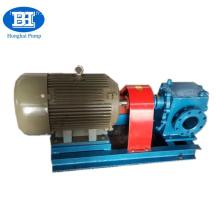 6 / 0,8 pompe à engrenages de transfert de fioul lourd de bitume de conduction de haute viscosité