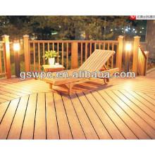 ECO-friendly WPC cubierta al aire libre / piso WPC
