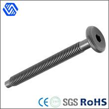 Kundenspezifischer hochfester Stahl-Hilti-Bolzen-Schwarz-Innensechskant-runde Hauptschraubenschraube