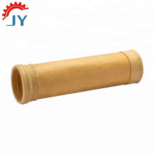 Medium and high temperature needle felt filter bag