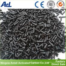 Производство древесной основе Столбчатых активированного угля