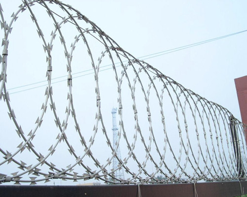 Galvanized Razor Barbed Wire