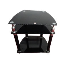 Hot Selling Morden Design LCD Glass TV Stand