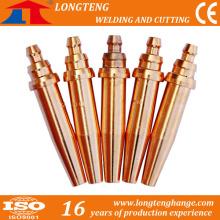 Brass Cutting Nozzles Balanced Presssure Cutting Tip