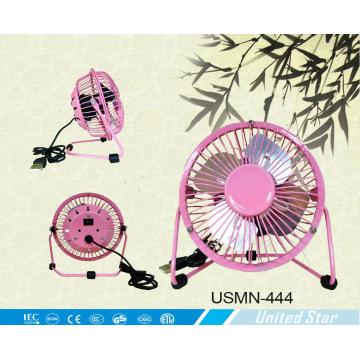"Ventilateur USB USB 4 ""2500 tr / mn avec lame en aluminium (USMN-444)"