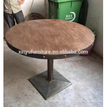 Retro style wooden restaurant table XYN1105