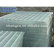 Hot dip galvanized plain steel grating