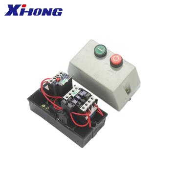 QCX2 series Motor Telemecanique Push Botton Type Magnetic Starter star delta starter