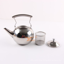Wholesale 1.5L Classic Stainless Steel Tea Pot Kettles/ Metal Water Pitcher